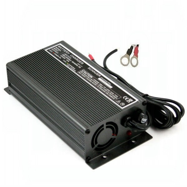 Schauer 24V 7 Amp Battery Charger w/ Rings