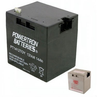 Power Wheels 12V Battery Replaces 00801-0638