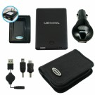 Lenmar PowerPort Kit External Battery & Charger