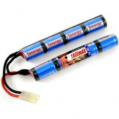 9.6V 1600mAh Butterfly Style NiMH Airsoft Battery