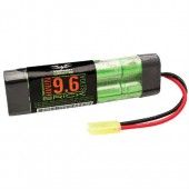 48115 - 9.6 volt 1600 mah flat airsoft battery