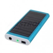 Blue Compact Solar Charger
