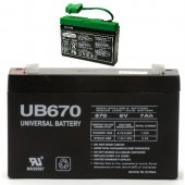 DMU6-8 Old IAKB0509 Replacement Peg Perego Battery (AKA: IAKB0508 Slim)