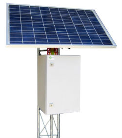 RTU Remote Solar Power Batteries