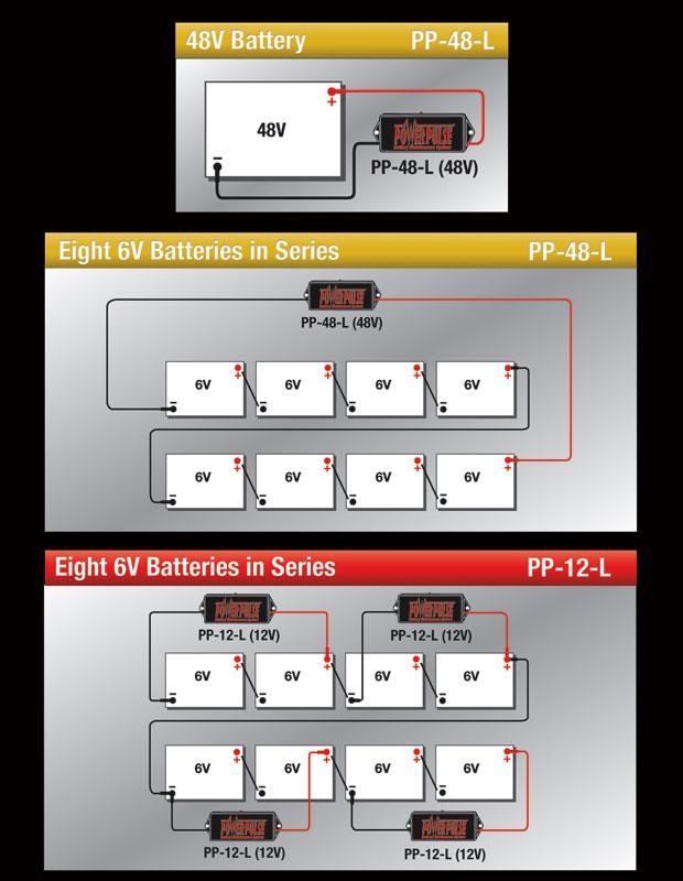 48 volt Series Diagram
