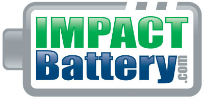 Impact Battery Logo on Battery White Paper Page