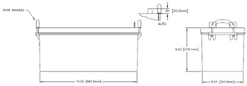 GPL-4DA Marine Battery Specifications