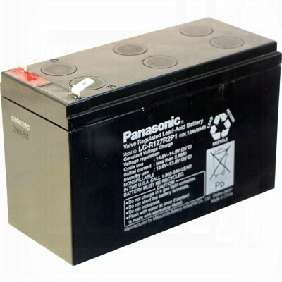 12V 7.2Ah F2 Replacement Battery for Minuteman MBK550E